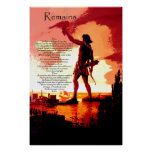 Remains Posters