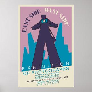 remake 1938 del poster de la exposición de la