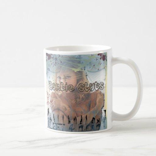remake de las mujerzuelas del zombi taza de café