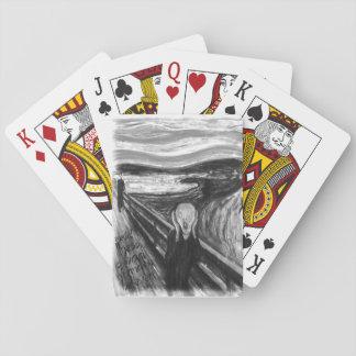 Remake mental de Gogh: El grito de Edvard Munch Baraja De Cartas