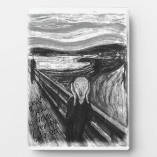 Remake mental de Gogh: El grito de Edvard Munch Placas De Madera