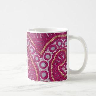 Remanente Afghani 2 de la materia textil Tazas De Café
