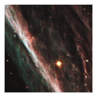 Remanente de la nebulosa del lápiz de la estrella  arte fotográfico