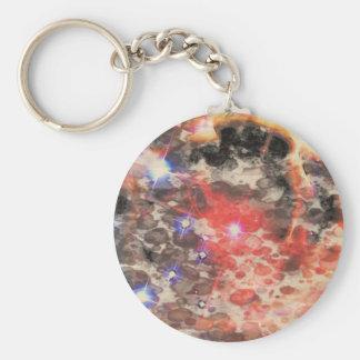 Remanente de la supernova llaveros personalizados