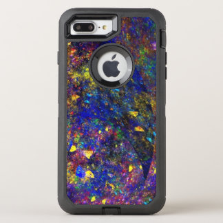 remarkable colored abstract OtterBox defender iPhone 8 plus/7 plus case