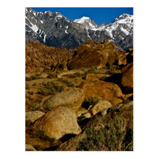 REMARKABLE HIGH DESERT ROCK FORMATION POSTCARD