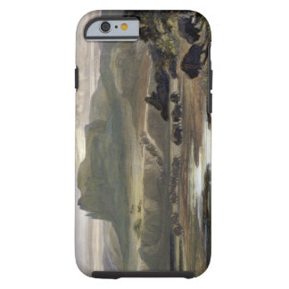 Remarkable Hills on the Upper Missouri, plate 34 f Tough iPhone 6 Case