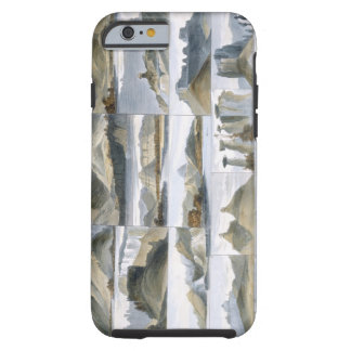 Remarkable Hills on the Upper Missouri, plate 35 f Tough iPhone 6 Case
