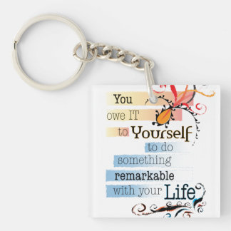 Remarkable Life Keychain