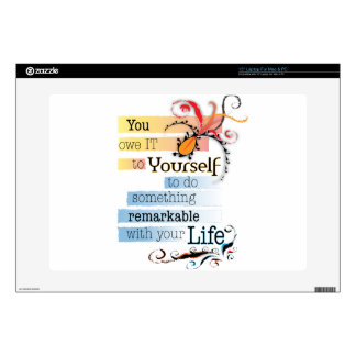 Remarkable Life Decal For Laptop