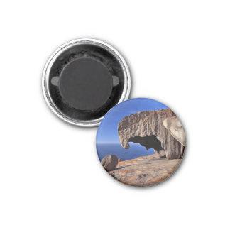 Remarkable Rocks, Kangaroo Island,South Australia 1 Inch Round Magnet