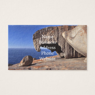 Remarkable Rocks, Kangaroo Island,South Australia Business Card