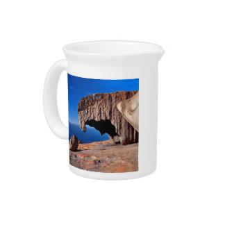 Remarkable Rocks, Kangaroo Island,South Australia Beverage Pitchers
