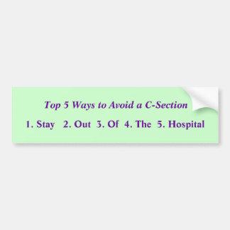 Remate 5 maneras de evitar A.C. - sección Pegatina De Parachoque
