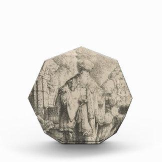 Rembrandt: Abraham que despide Hagar