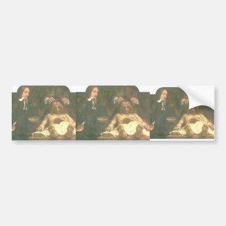 Rembrandt: Anatomía del doctor Deyman Pegatina Para Auto