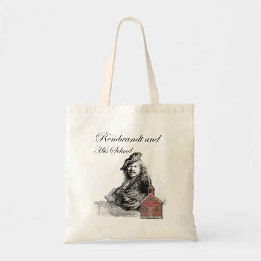 Rembrandt and His School Humor Budget Tote Bag