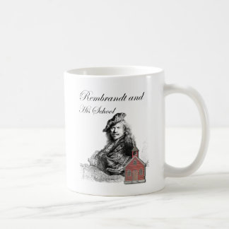 Rembrandt and His School Humor Classic White Coffee Mug