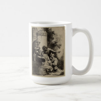 Rembrandt Art Painting and etching Coffee Mug