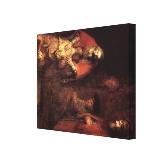 Rembrandt Art Painting Canvas Print