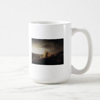 Rembrandt Art Painting Landscape Coffee Mug