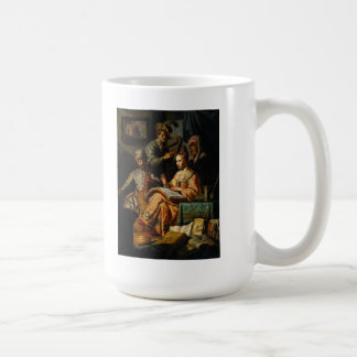 Rembrandt Art Painting Musical Allegory Mug