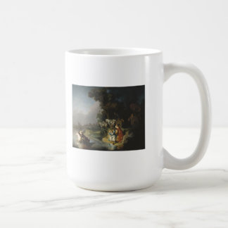 Rembrandt Art Painting Rape of Europe Mug