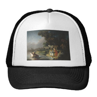 Rembrandt Art Painting Rape of Europe Trucker Hat