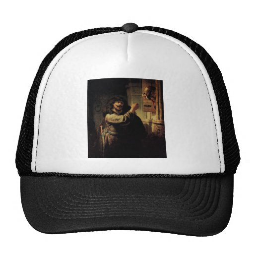 Rembrandt Art Painting Trucker Hat