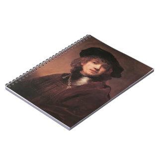 Rembrandt: Autorretrato como hombre joven Libros De Apuntes