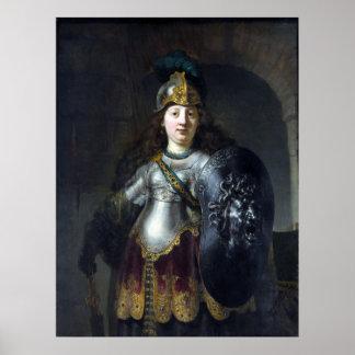 Rembrandt Bellona Poster