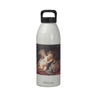 Rembrandt: Burbujas de jabón del Cupid que soplan Botellas De Agua Reutilizables
