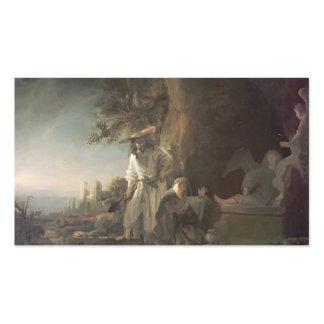 Rembrandt Cristo y St Mary Magdalena en la tumba Plantillas De Tarjetas De Visita