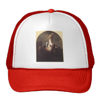 Rembrandt- Deposition from the Cross Trucker Hat