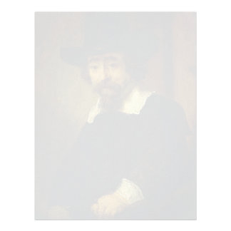Rembrandt- Dr Ephraim Bueno, Physician and Writer Customized Letterhead