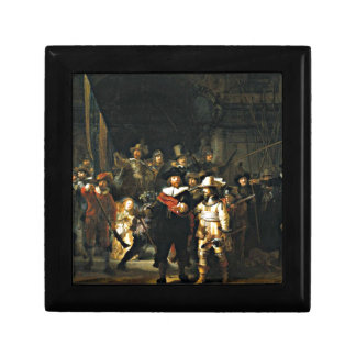 Rembrandt: El Nightwatch Caja De Recuerdo