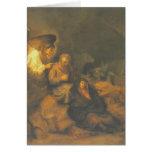 Rembrandt el sueño de San José Felicitacion