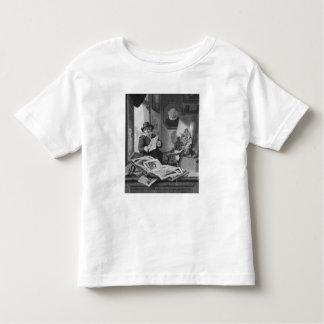 Rembrandt en su estudio camisas