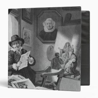 """Rembrandt en su estudio carpeta 1 1/2"""""""