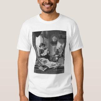 Rembrandt en su estudio polera