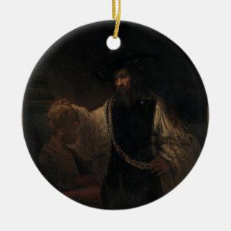 Rembrandt_Harmensz. _van_Rijn_013 Adorno Redondo De Cerámica