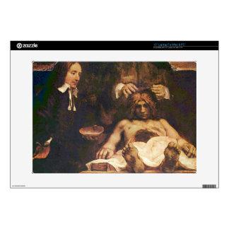 Rembrandt Harmenszoon van Rijn - Anatomical lectur Laptop Decals