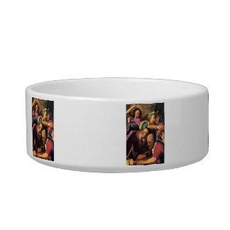 Rembrandt Harmenszoon van Rijn - Christ driving th Cat Bowl