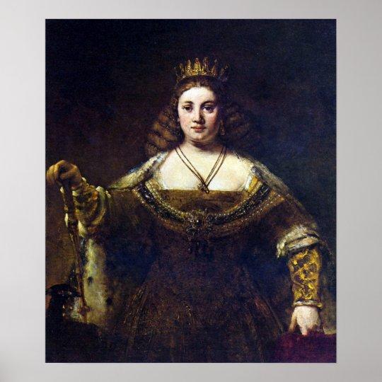 Rembrandt Harmenszoon van Rijn - Juno Poster