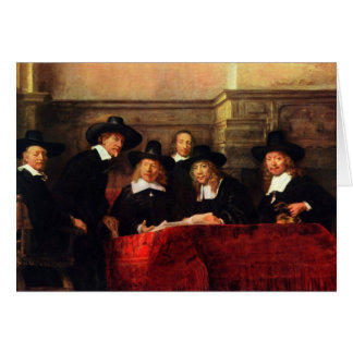 Rembrandt Harmenszoon van Rijn - Portrait of Chair Card