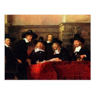 Rembrandt Harmenszoon van Rijn - Portrait of Chair Postcard