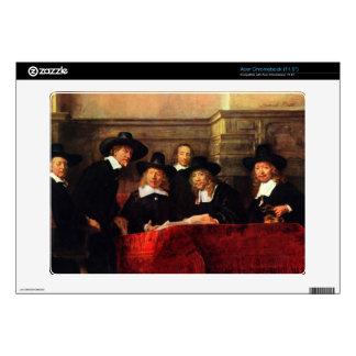 Rembrandt Harmenszoon van Rijn - Portrait of Chair Skins For Acer Chromebook