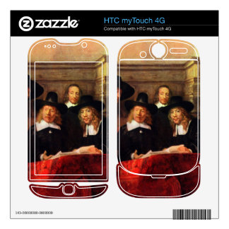 Rembrandt Harmenszoon van Rijn - Portrait of Chair Decals For HTC myTouch 4G