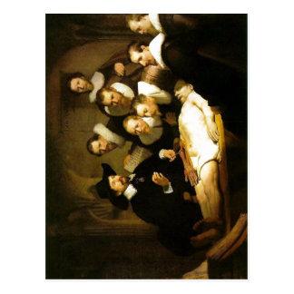 Rembrandt Harmenszoon van Rijn:    Rembrandt:  1 Tarjetas Postales