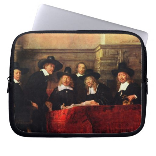 Rembrandt Harmenszoon van Rijn - retrato de la sil Fundas Computadoras